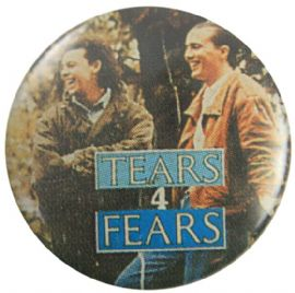 Tears For Fears - 'Group Woods' Button Badge